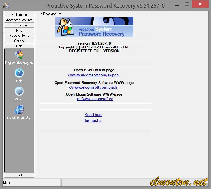 Proactive System Password Recovery (PSPR)